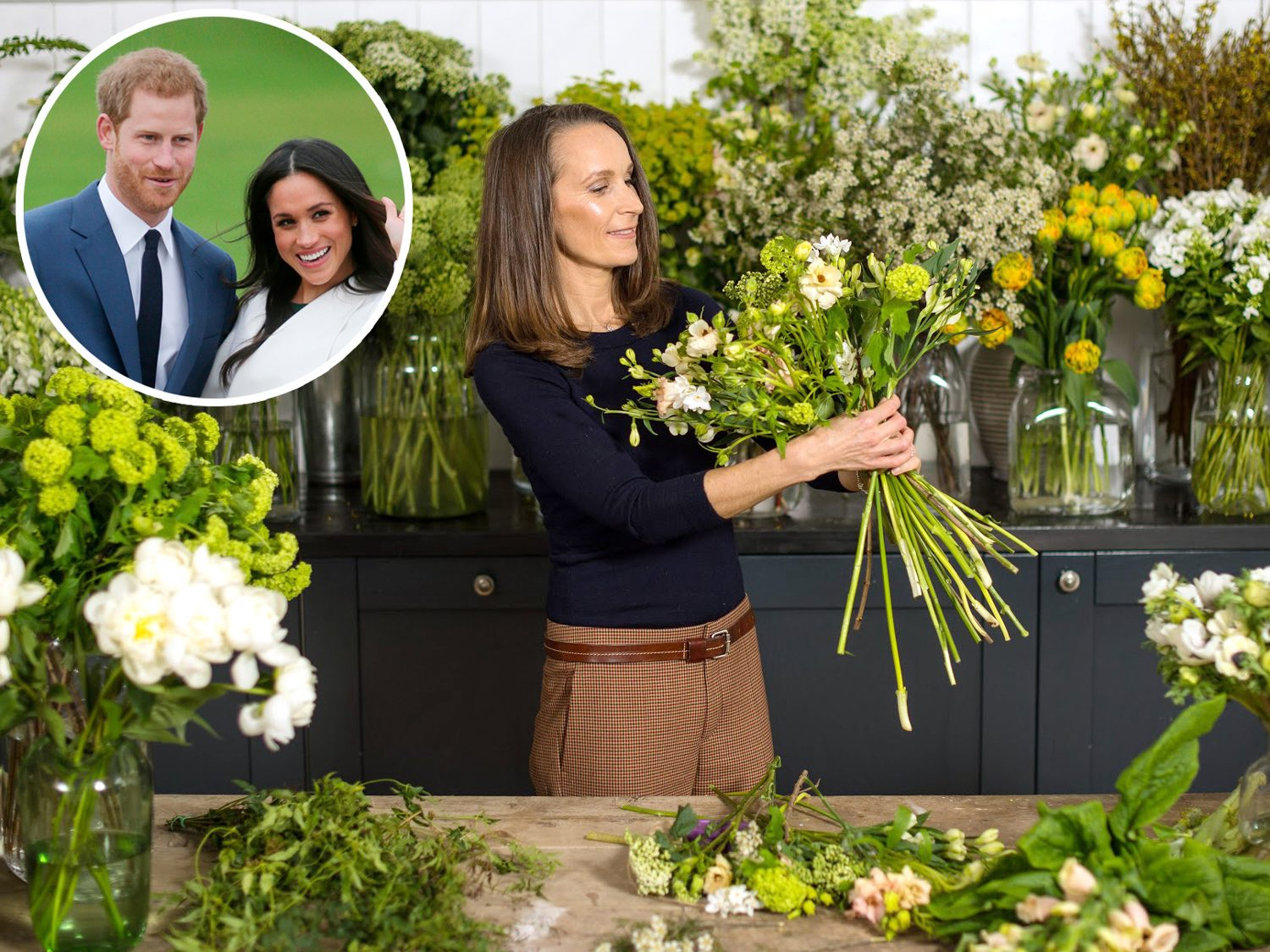 Meghan Markle And Prince Harry Break Tradition With Wedding Florist