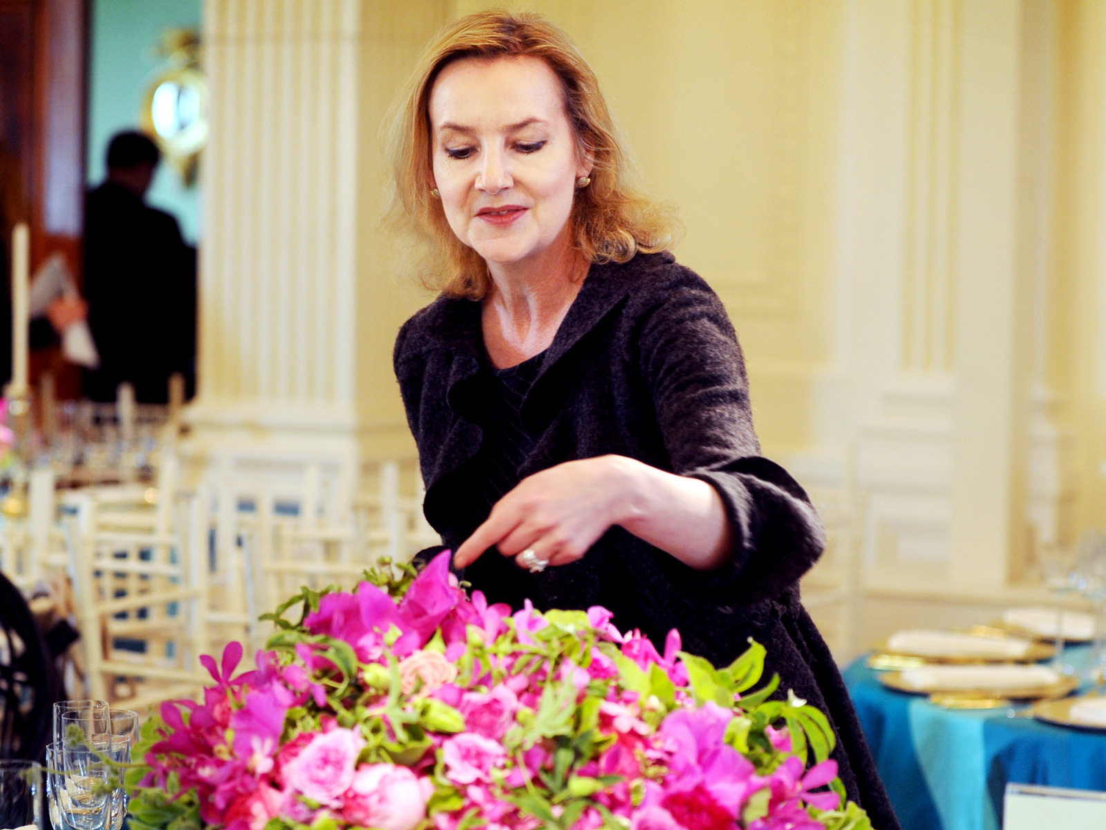 white house florist laura dowling