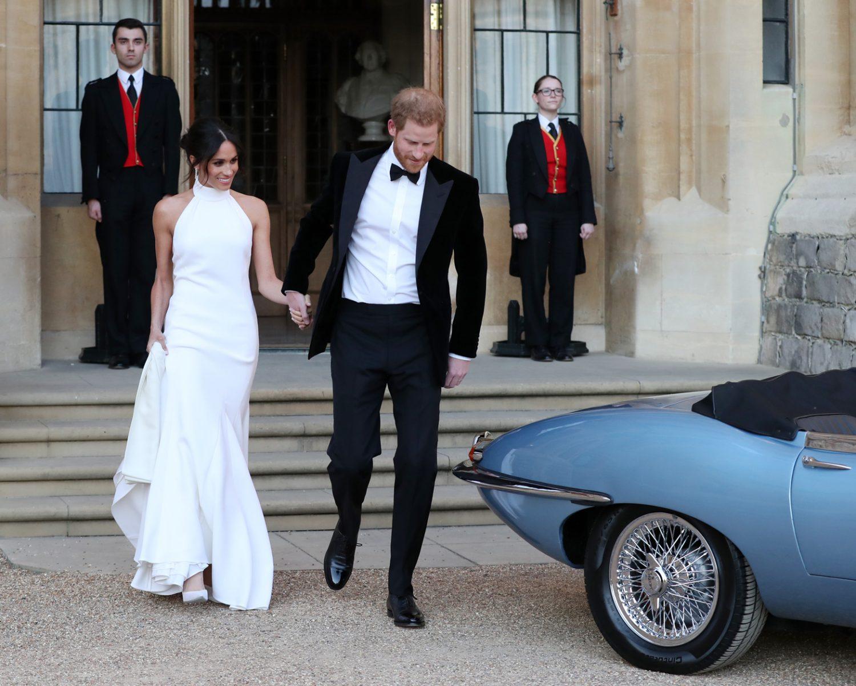 Prince Harry And Meghan Markle S Royal Wedding Getaway Car