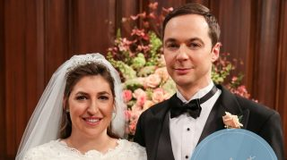 Big Bang Theory wedding shamy sheldon amy photos