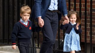 george charlotte wedding harry meghan