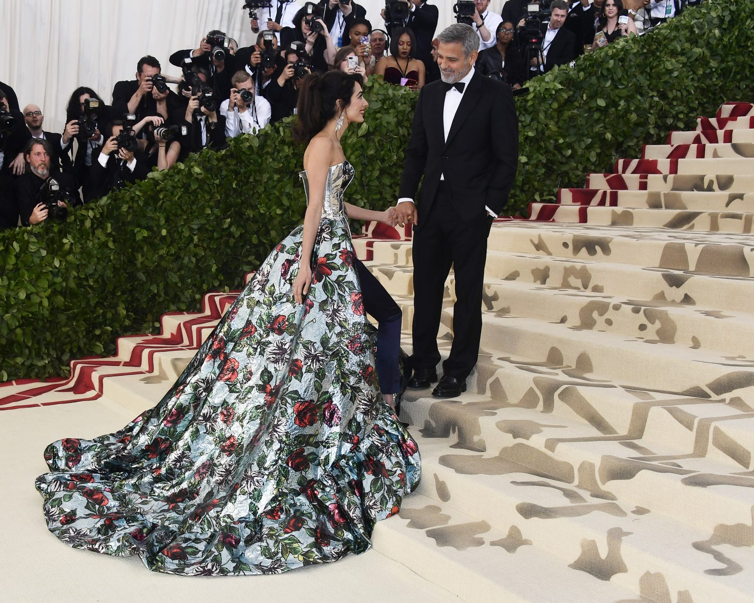 George And Amal Clooney Are Marriage Goals As Met Gala