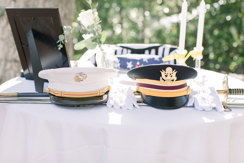 Wedding Gifts For Military Couples: Exclusive: Couple Honors Military Loved Ones With A