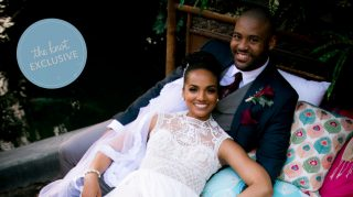 mekia cox wedding album