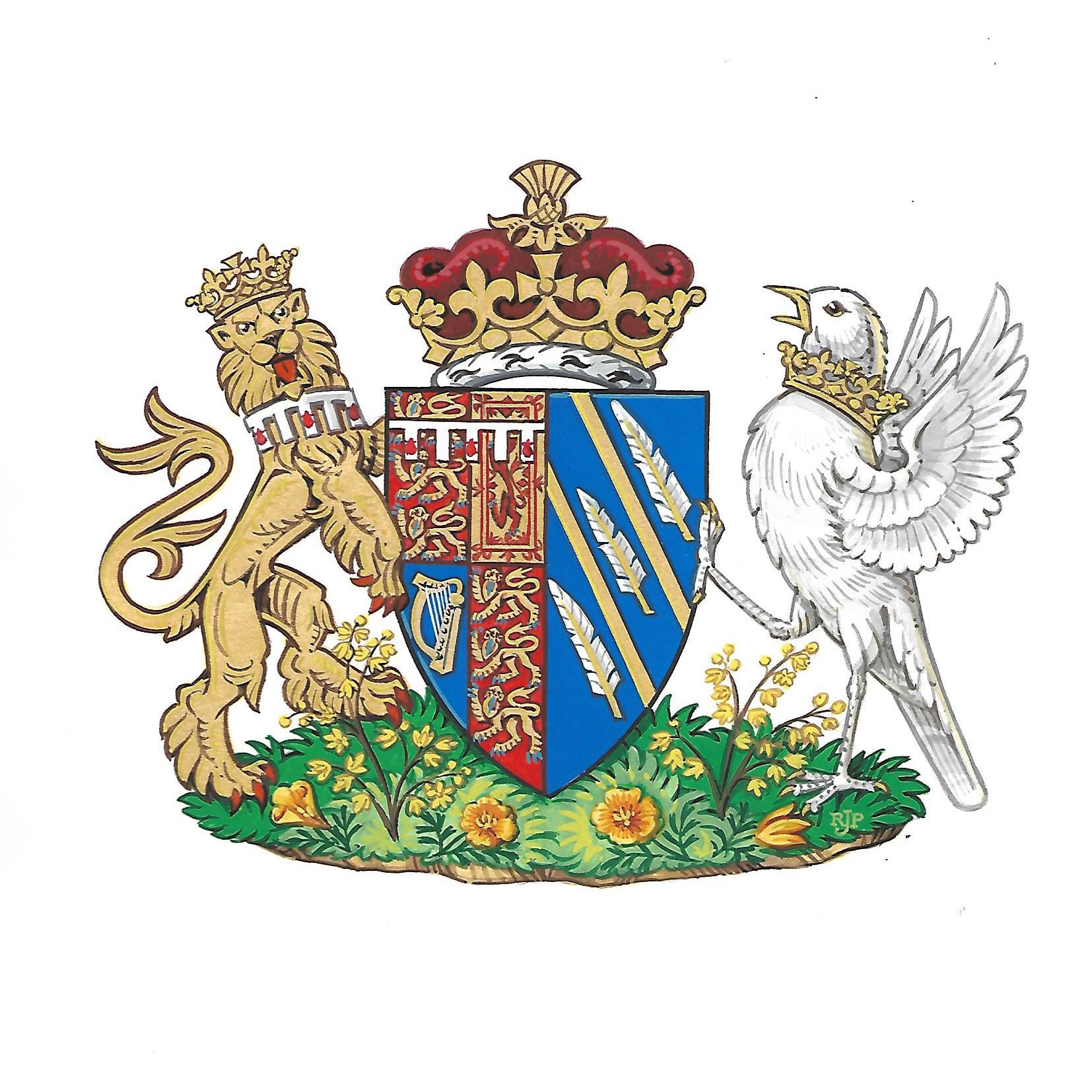 meghan markle duchess of sussex coat of arms