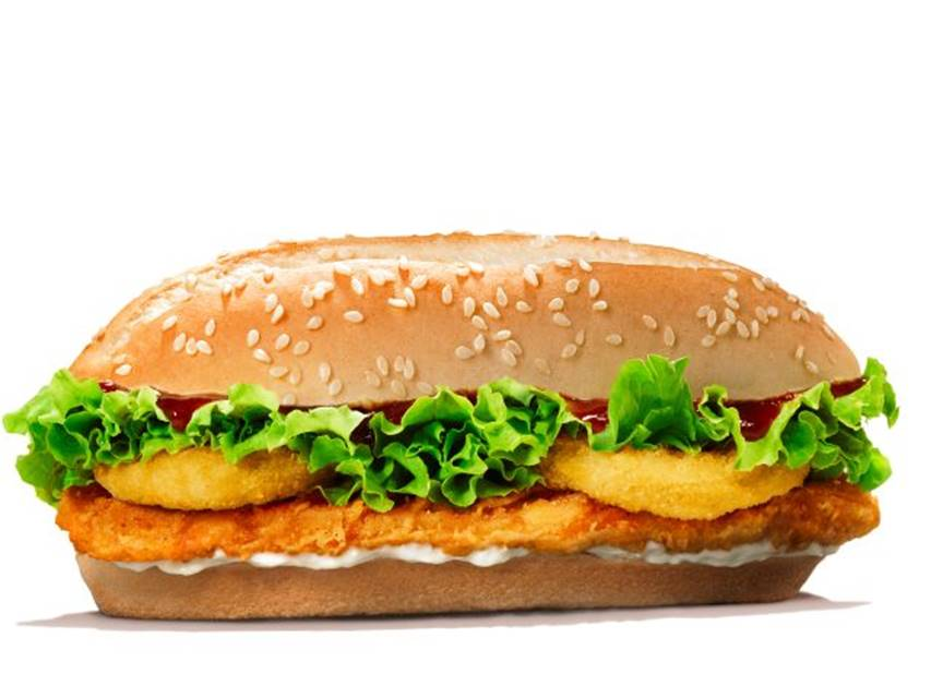 burger king chicken royale