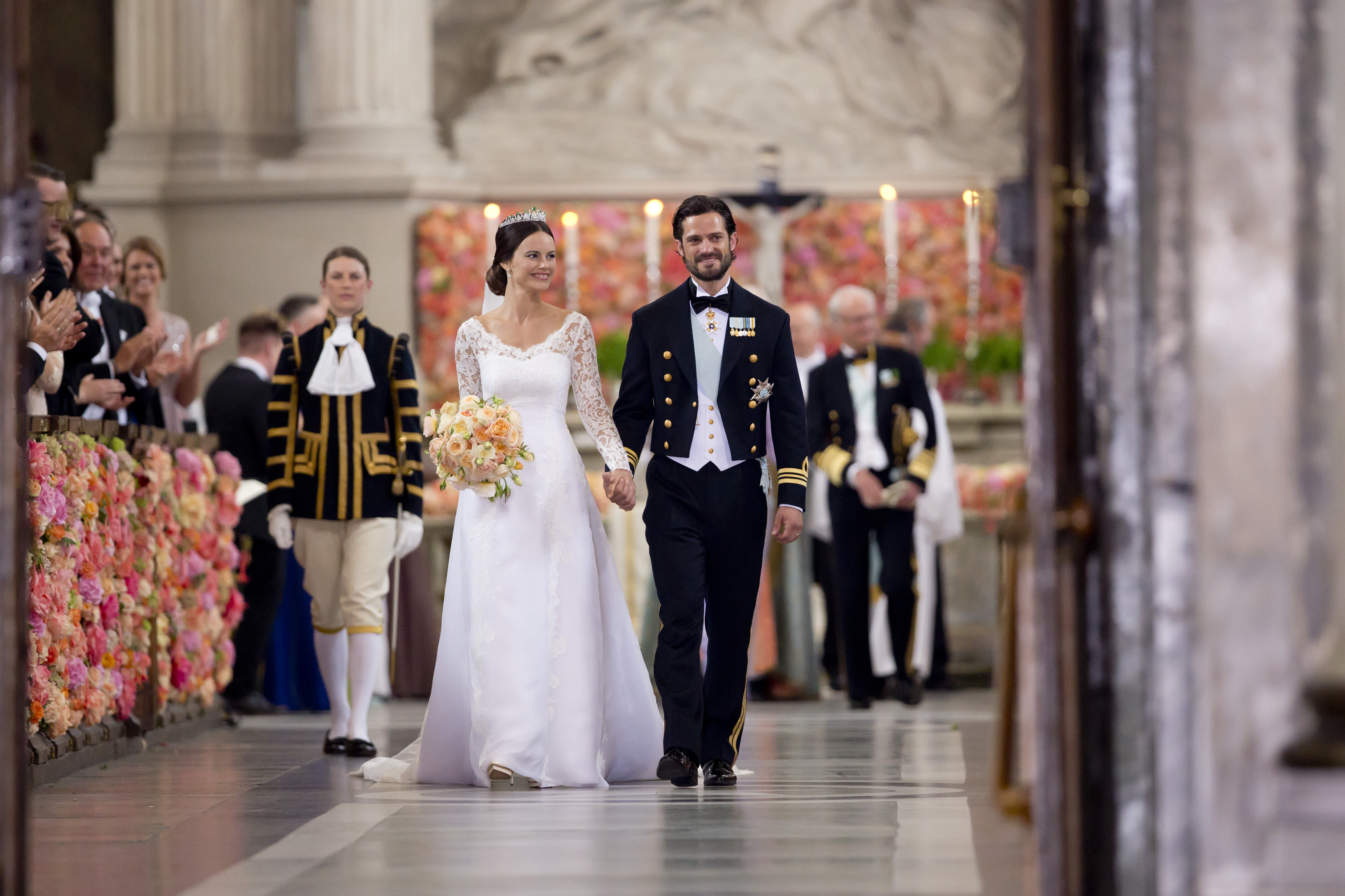 look back at prince carl philip and princess sofia of