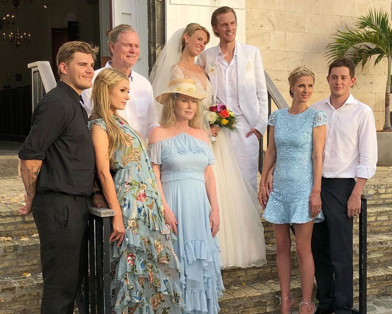 hilton family portrait