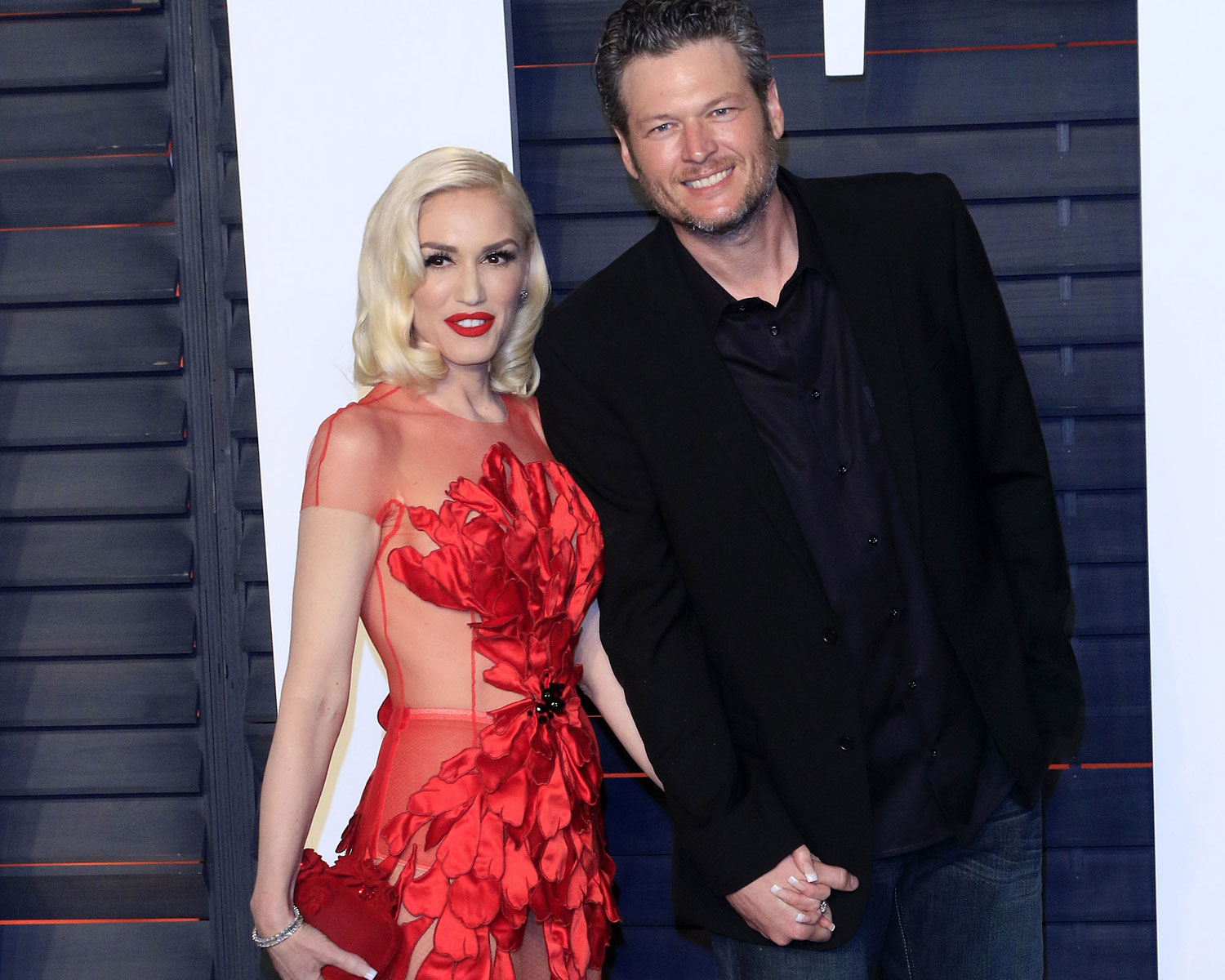 blake shelton gwen stefani wedding