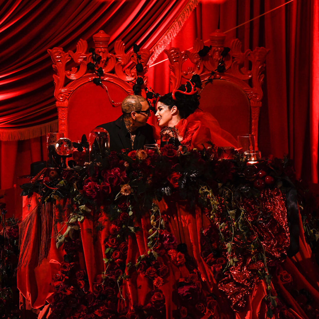 Kat Von Ds Gothic Eccentrically Obscure Wedding Was Truly