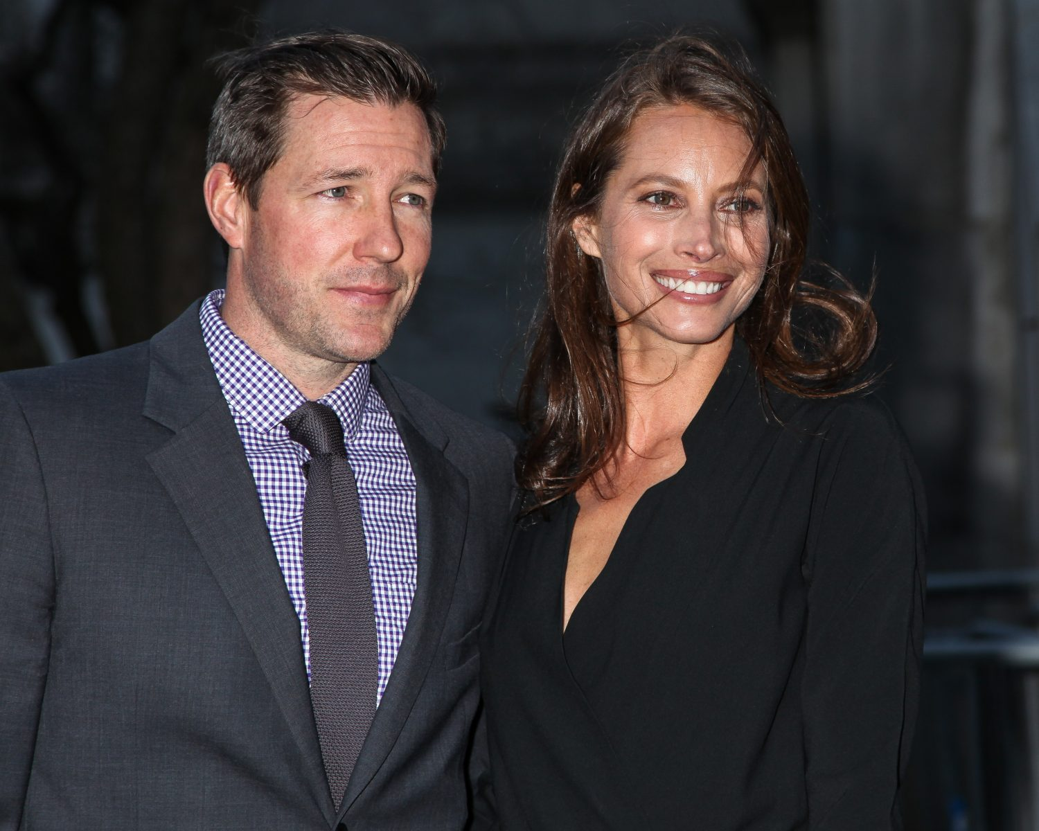 Supermodel Christy Turlington And Ed Burns Celebrate 15