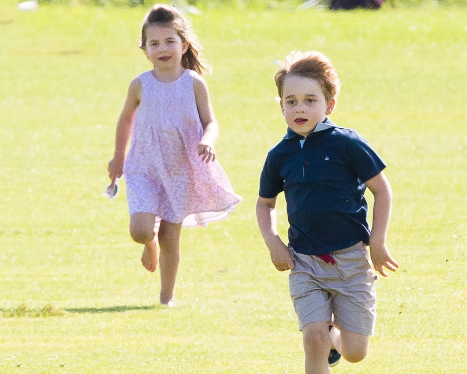 Watch Prince George and Princess Charlotte Are Adorable at Aunt Pippas Wedding video