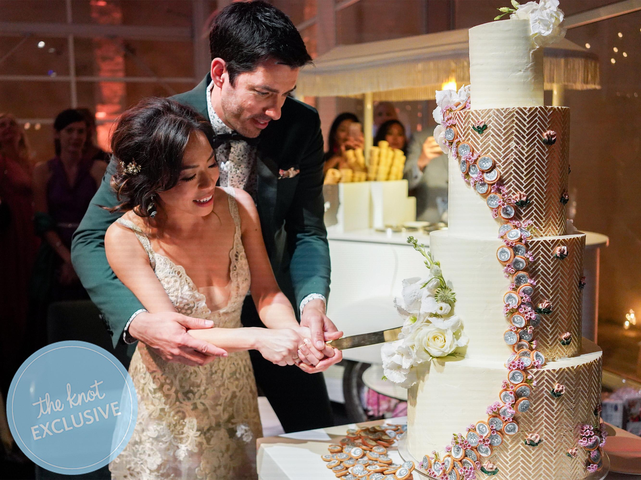 Drew Scott And Linda Phan Wedding May 2018 Italy Credit Jessica Earnshaw
