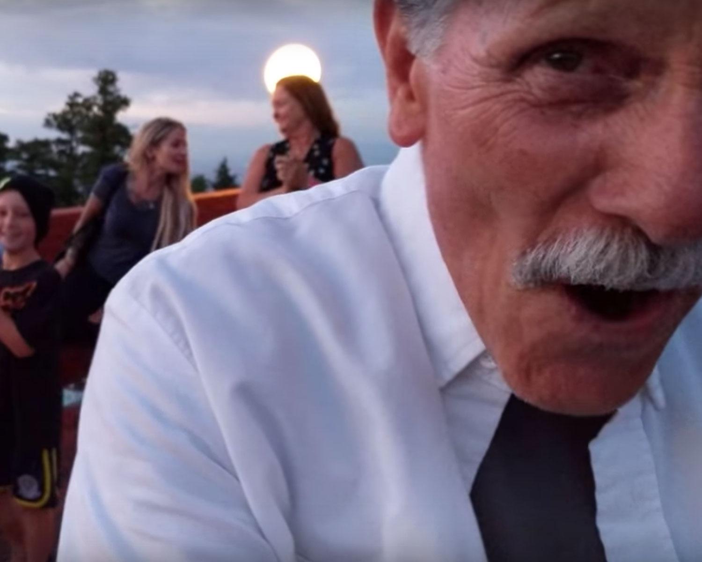 grandpa mistaken proposal