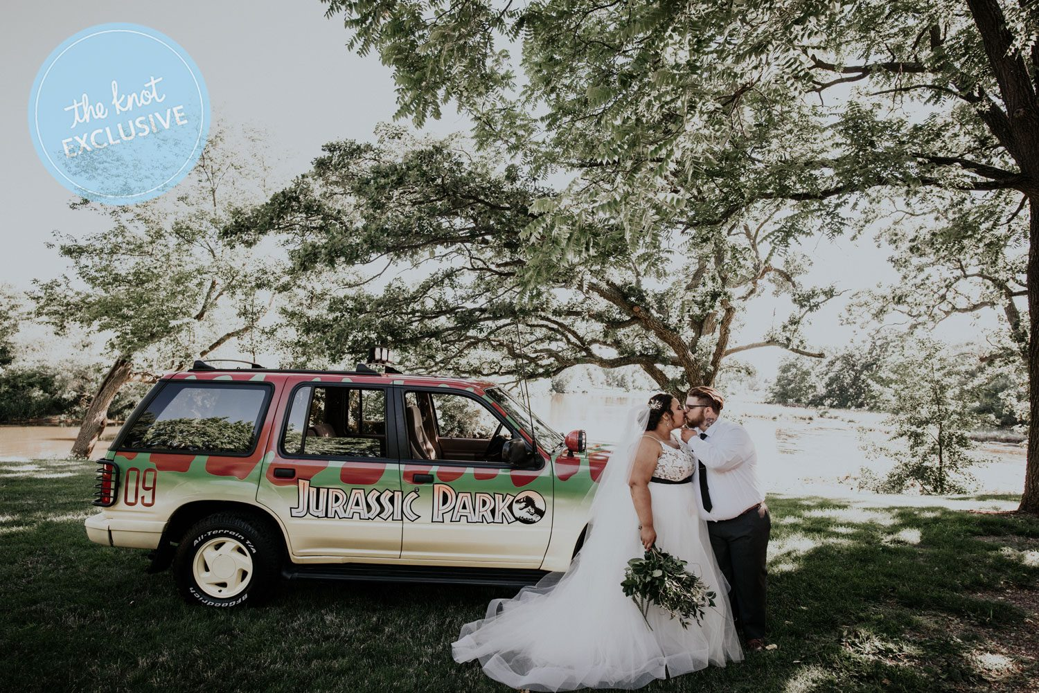 Exclusive Watch This Couples Jurassic Park Themed Wedding Video