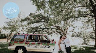jurassic park wedding