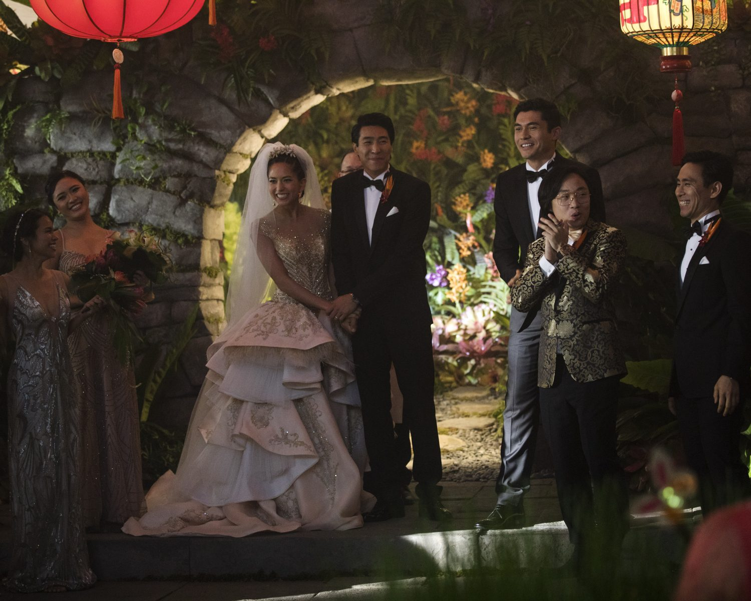 Exclusive: The \'Crazy Rich Asians\' Wedding Dress Was Completely ...