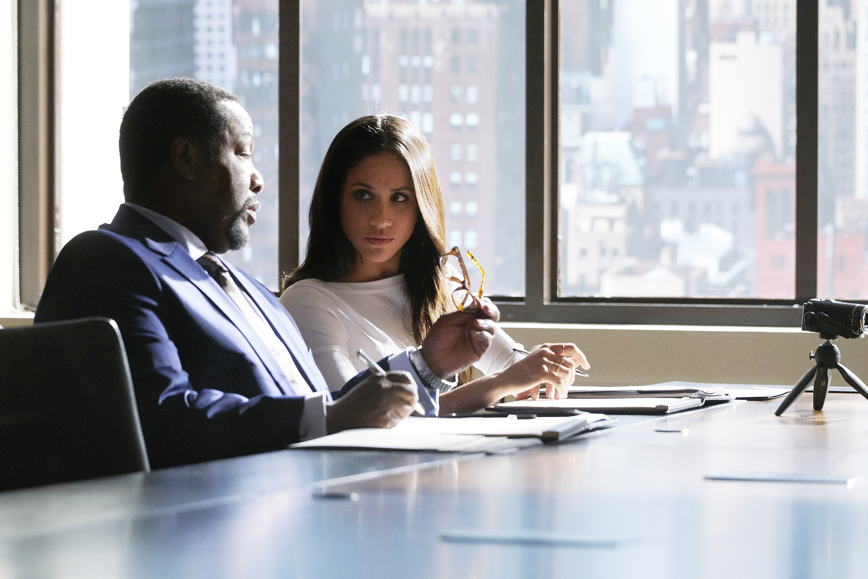 wendell pierce meghan markle suits