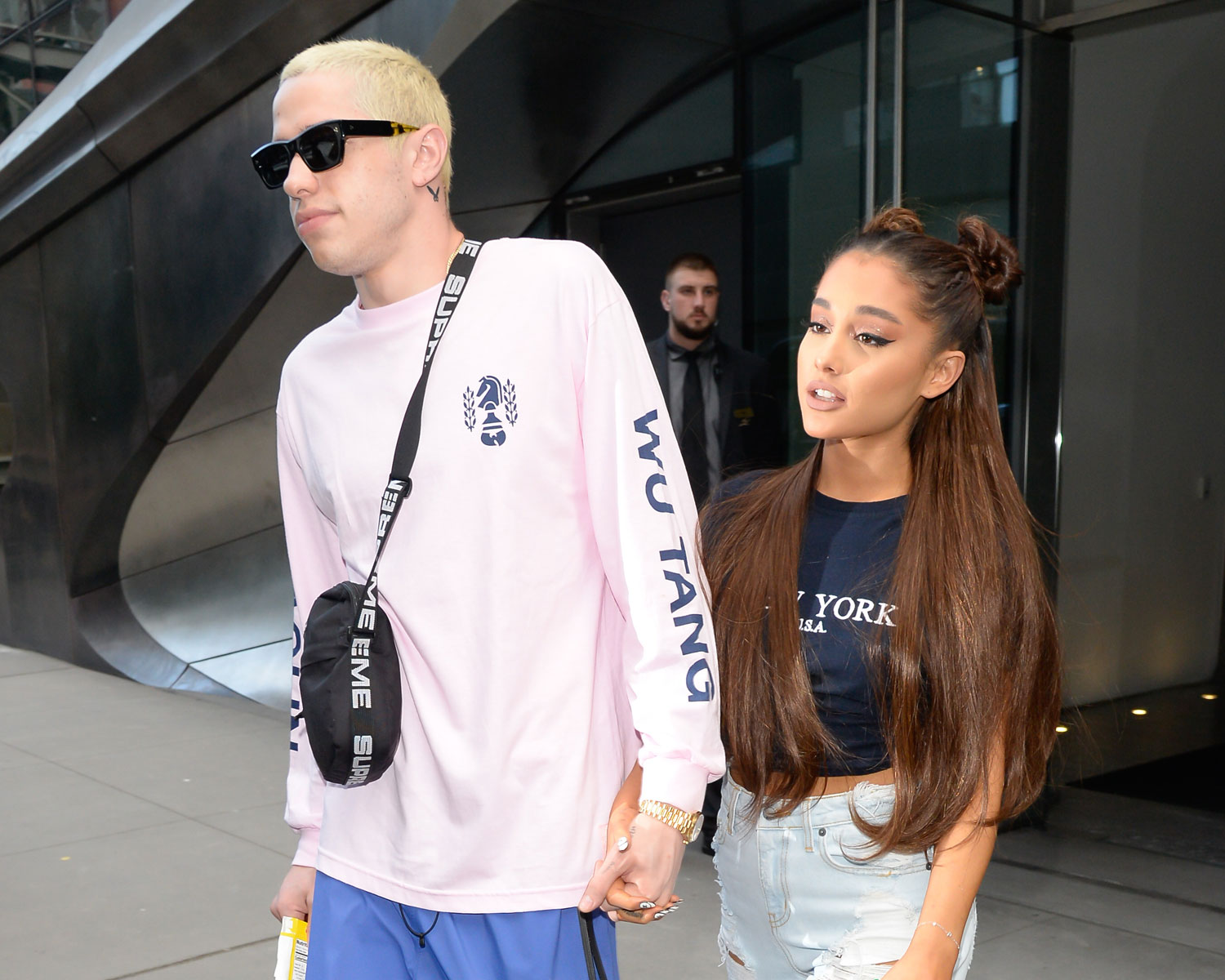 Pete Davidson Says It Was Love at First Sight With Ariana ...