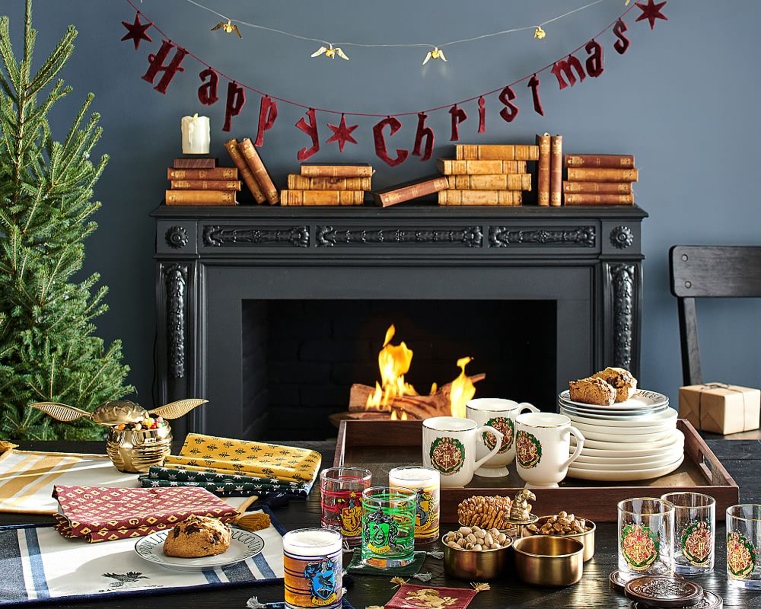 harry potter pottery barn holiday collection