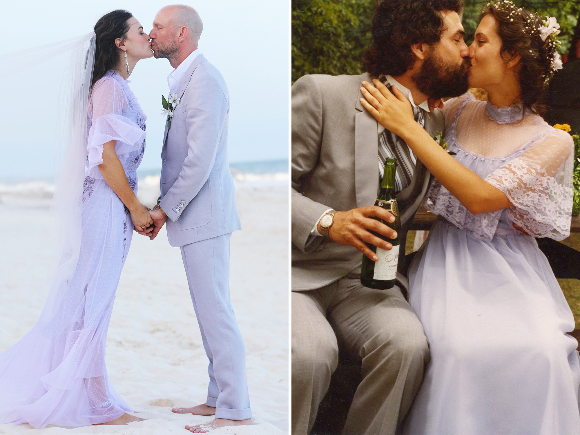 Model Myla Dalbesio Honored Her Late Mother With a Lavender Wedding ...
