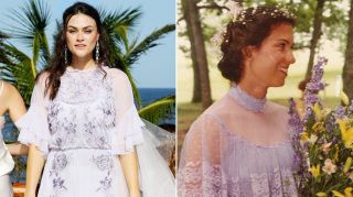 myla dalbesio wedding photo