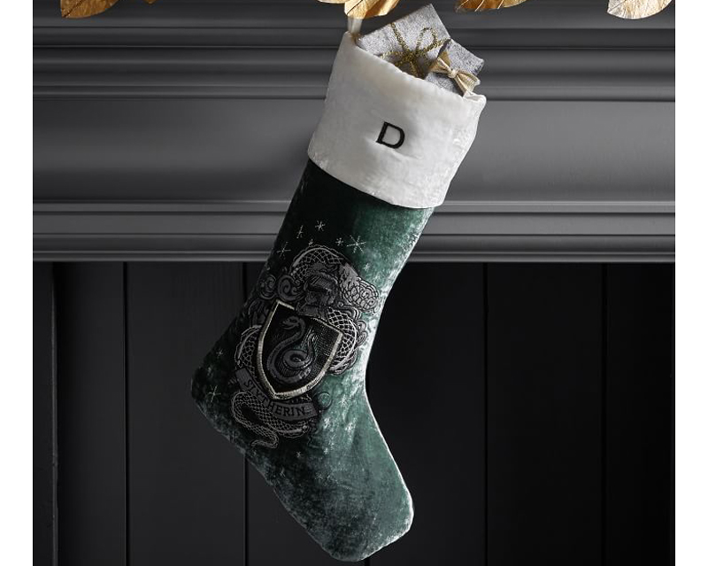 harry potter pottery barn holiday collection stocking