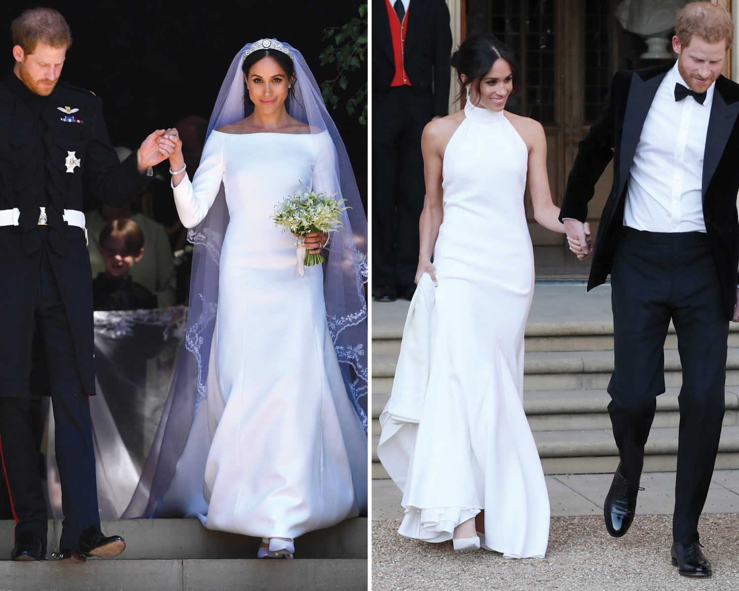 Celebrity Dress Swaps Stars Who Changed At Their Weddings