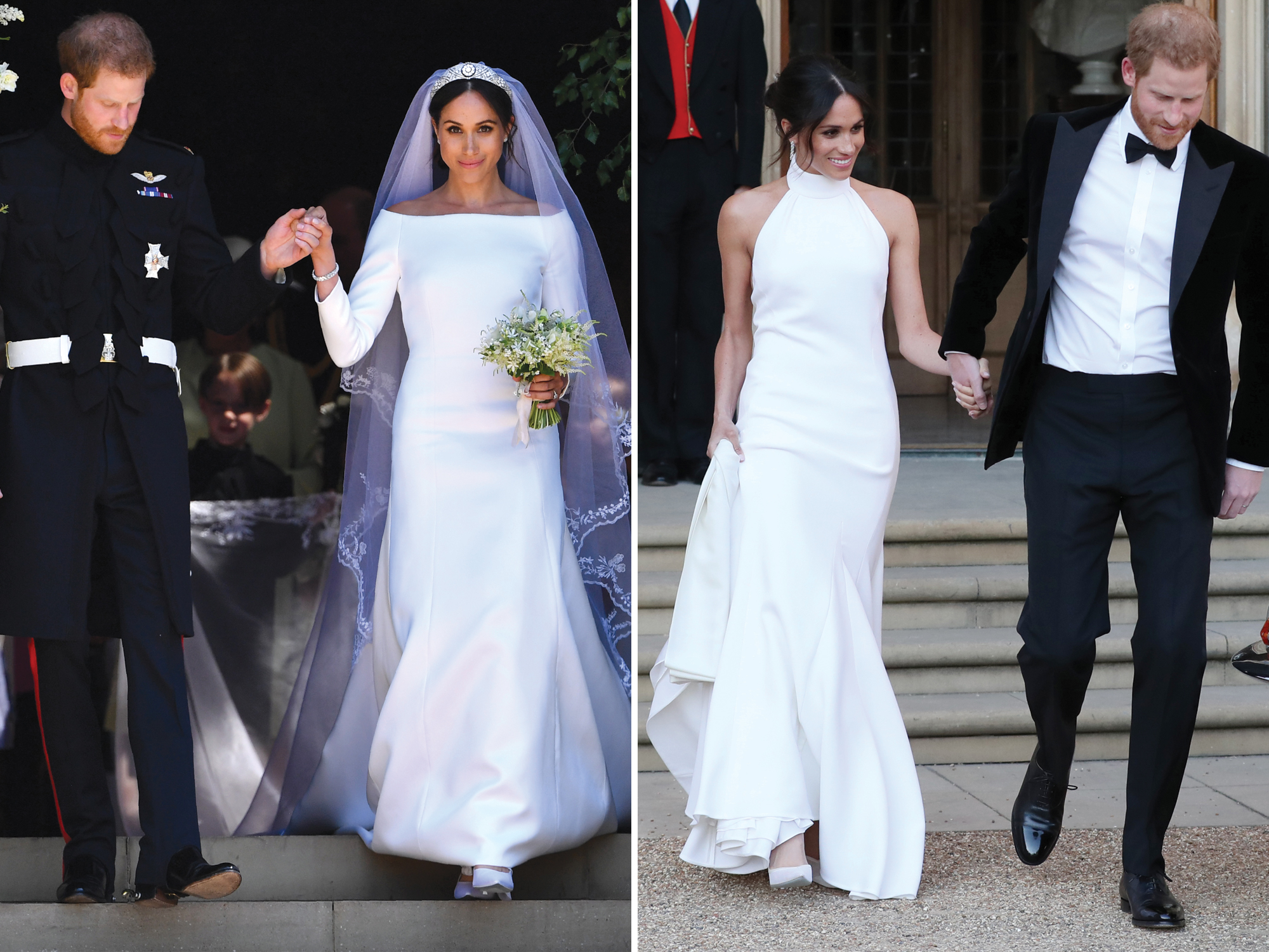 742eb1da1b3 Celebrity Wedding Dress Swaps  Stars Who Changed Between Their Ceremonies  and Receptions