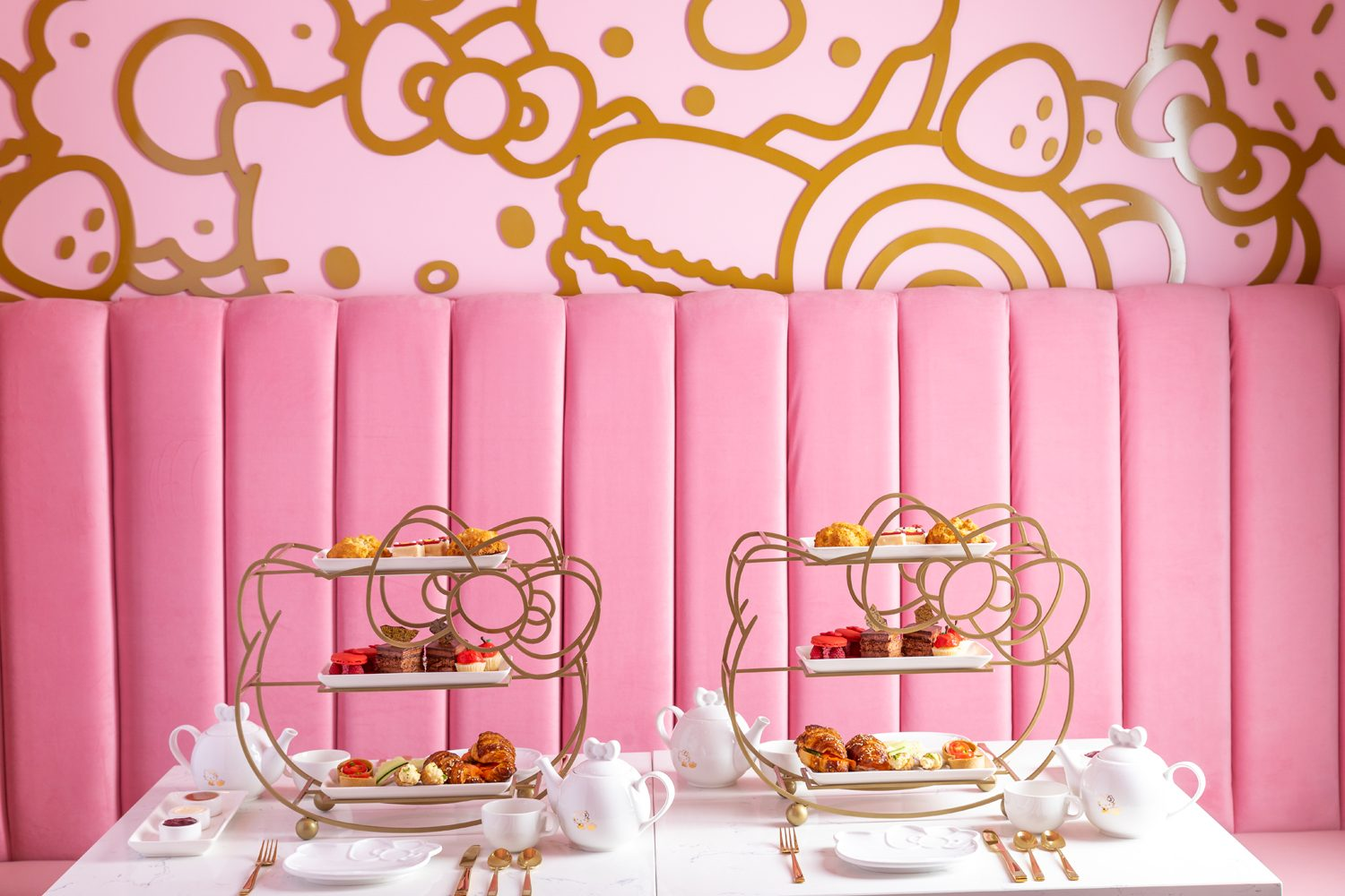 a new hello kitty cafe is opening so your bridal shower plans have changed