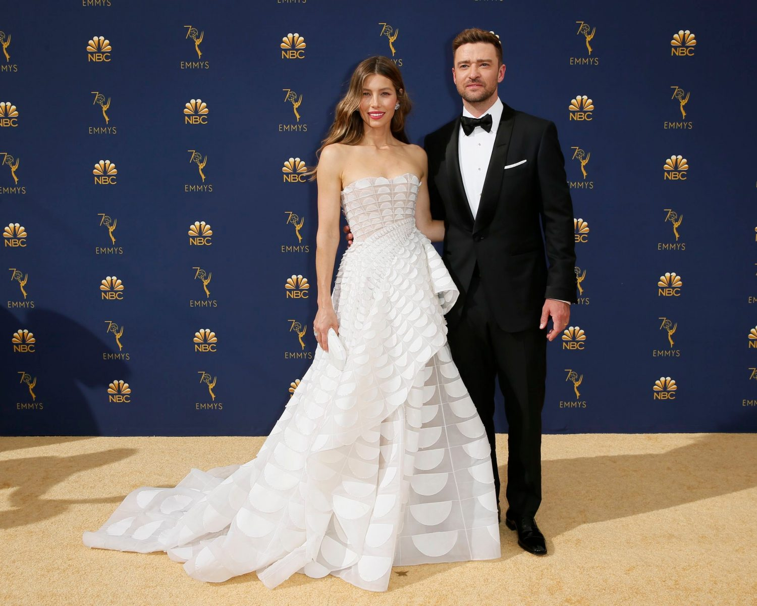 Justin Timberlake Wedding.Jessica Biel And Justin Timberlake At The 2018 Emmys I Feel Like I