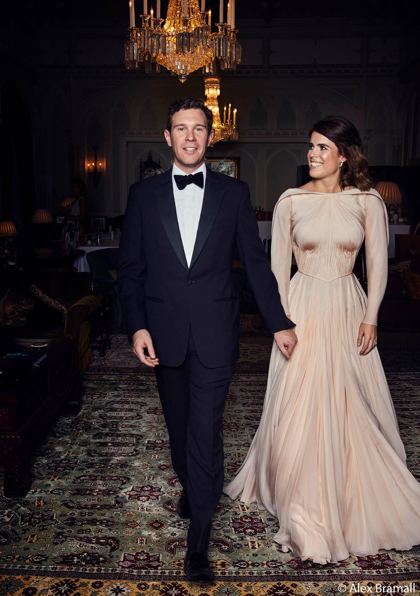 princess eugenie second dress