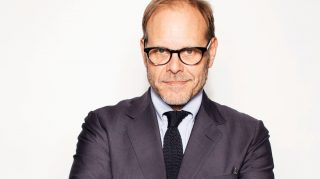 alton brown wedding