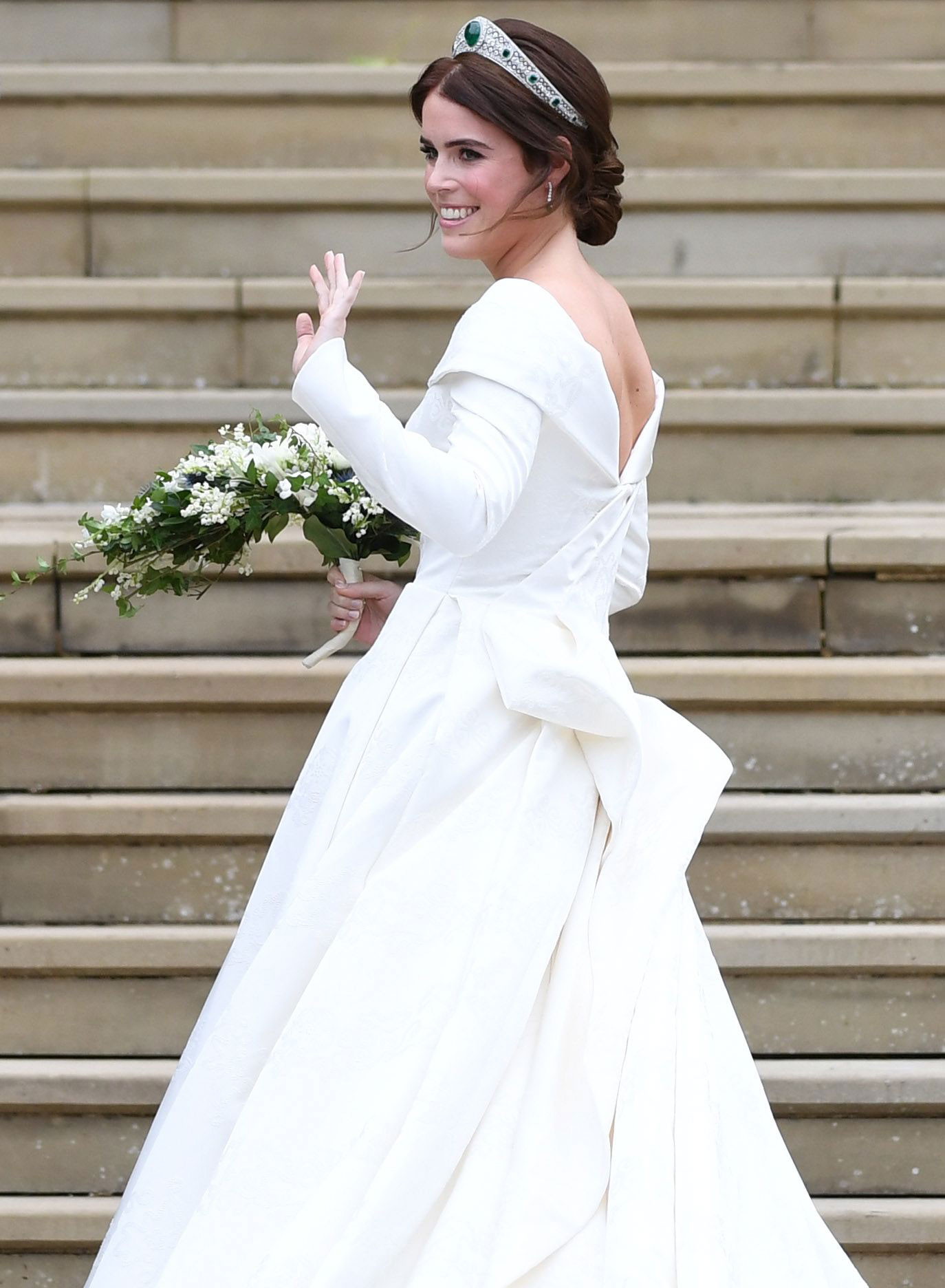 Mandatory Credit Photo By Neil Hall Epa Efe Rex Shutterstock 9928360au Britain S Princess Eugenie Of York Arrives For Her Royal Wedding Ceremony To Jack