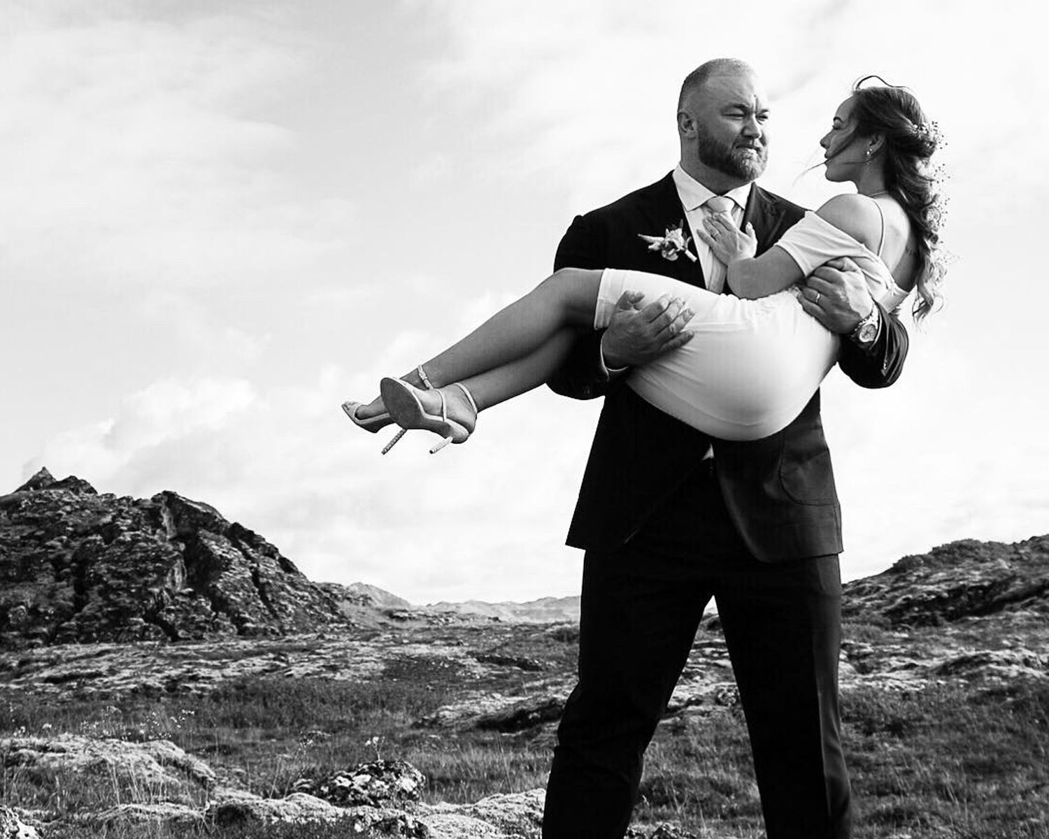 the mountain wedding