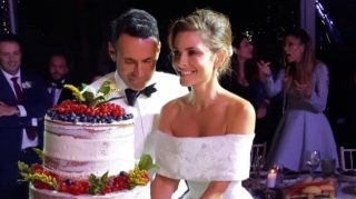 maria menounos second wedding