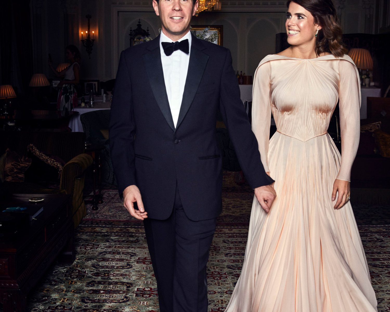 Zac Posen Shares Never-Before-Seen Photo of Princess Eugenie in Her Wedding Reception Gown