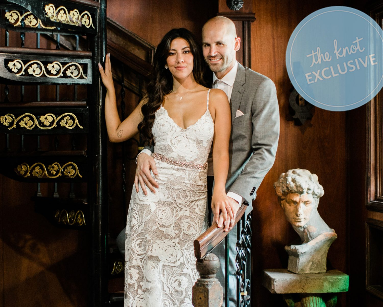 09373341859 Exclusive  Stephanie Beatriz Shares Her L.A.-Themed Wedding Album