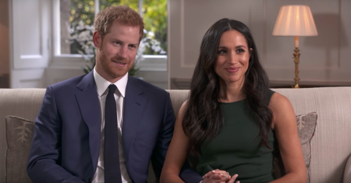 harry meghan interview engagement