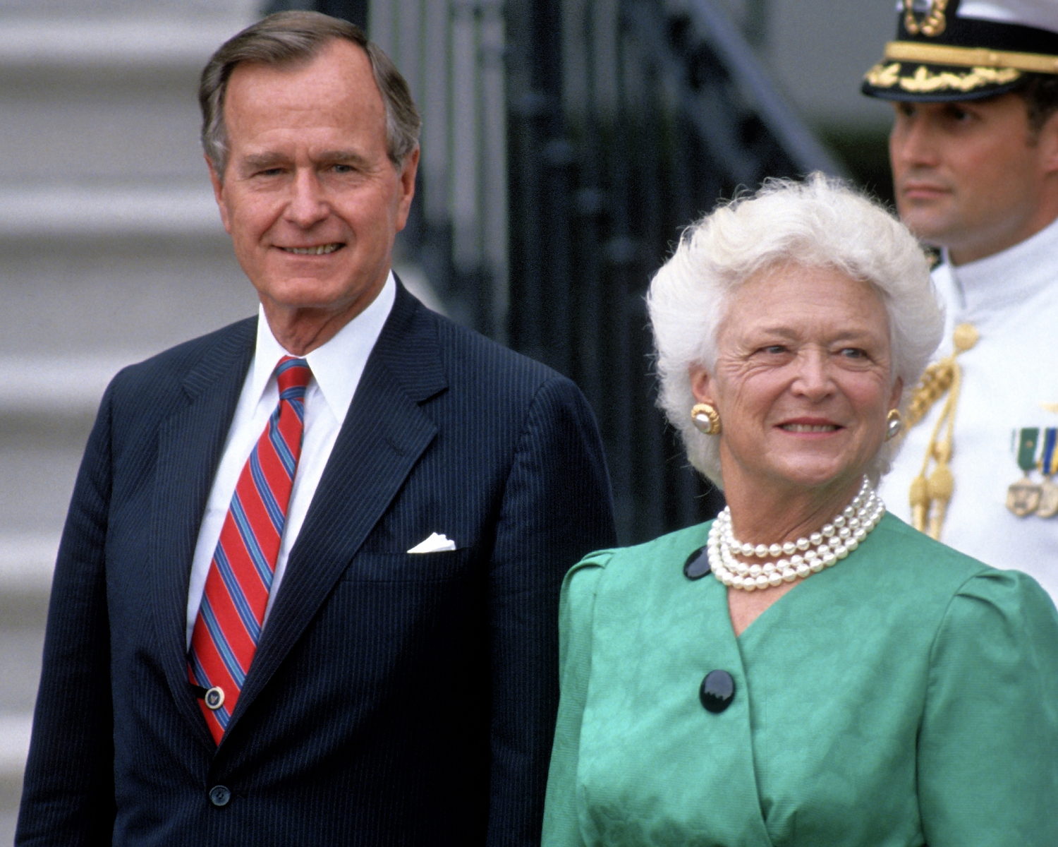 george HW bush barbara bush