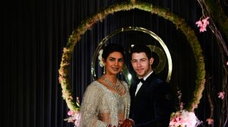 priyanka nick reception