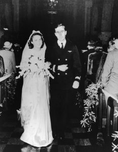 george barbara bush wedding
