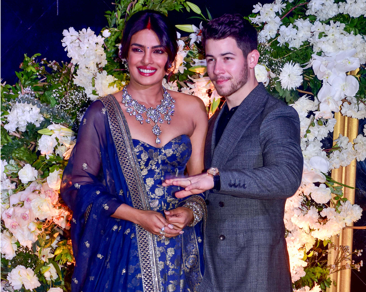 Priyanka Chopra And Nick Jonas Host A Second Wedding Reception In India