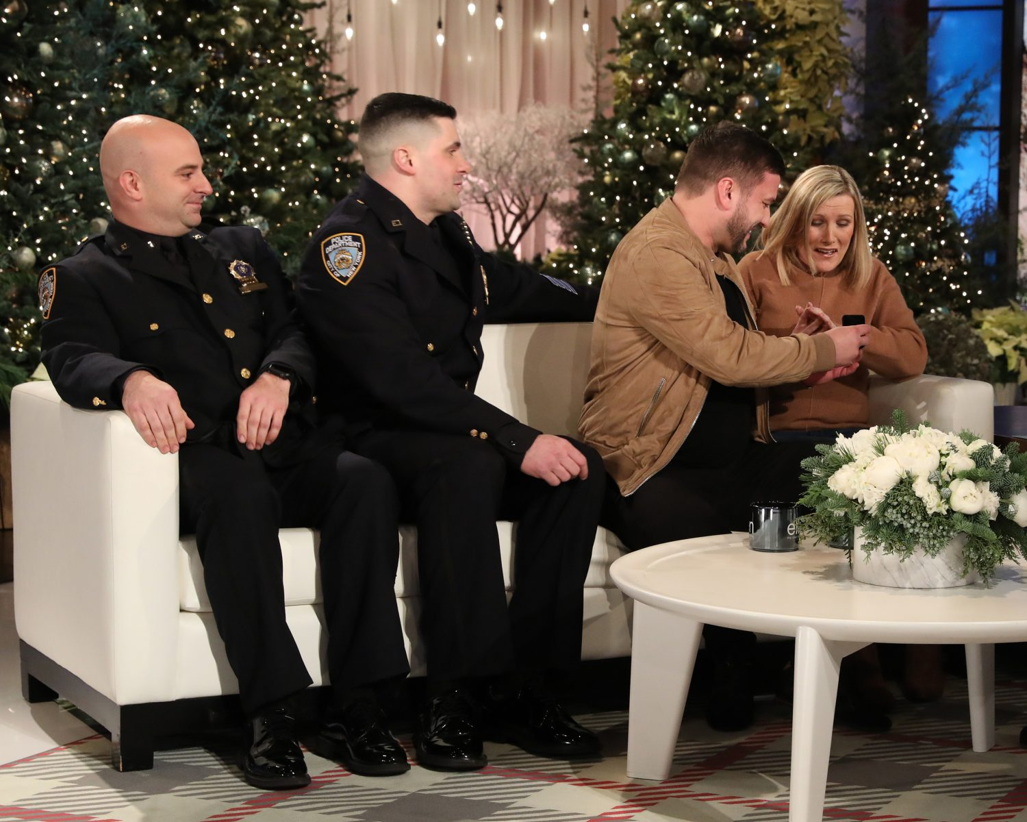Couple Meets the NYPD Detectives Who Found Their Missing Engagement Ring
