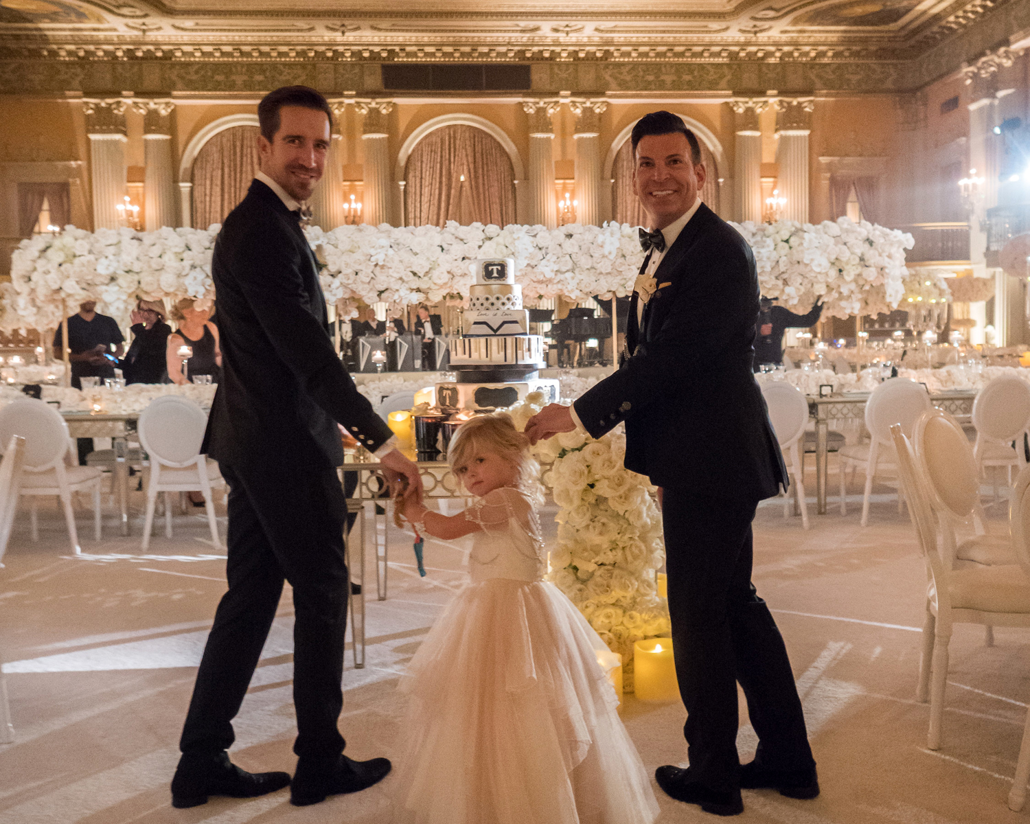 cce3d2b45eb David Tutera and Joey Toth s black-tie Los Angeles wedding in April 2017.  (Maring Visuals)