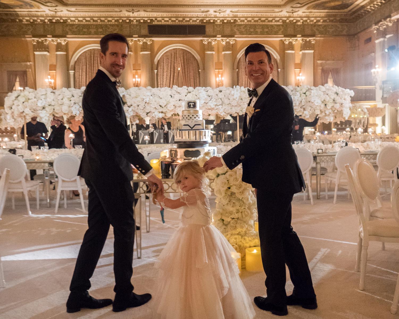 dd34a6e2e2b David Tutera and Joey Toth s black-tie Los Angeles wedding in April 2017.  (Maring Visuals)