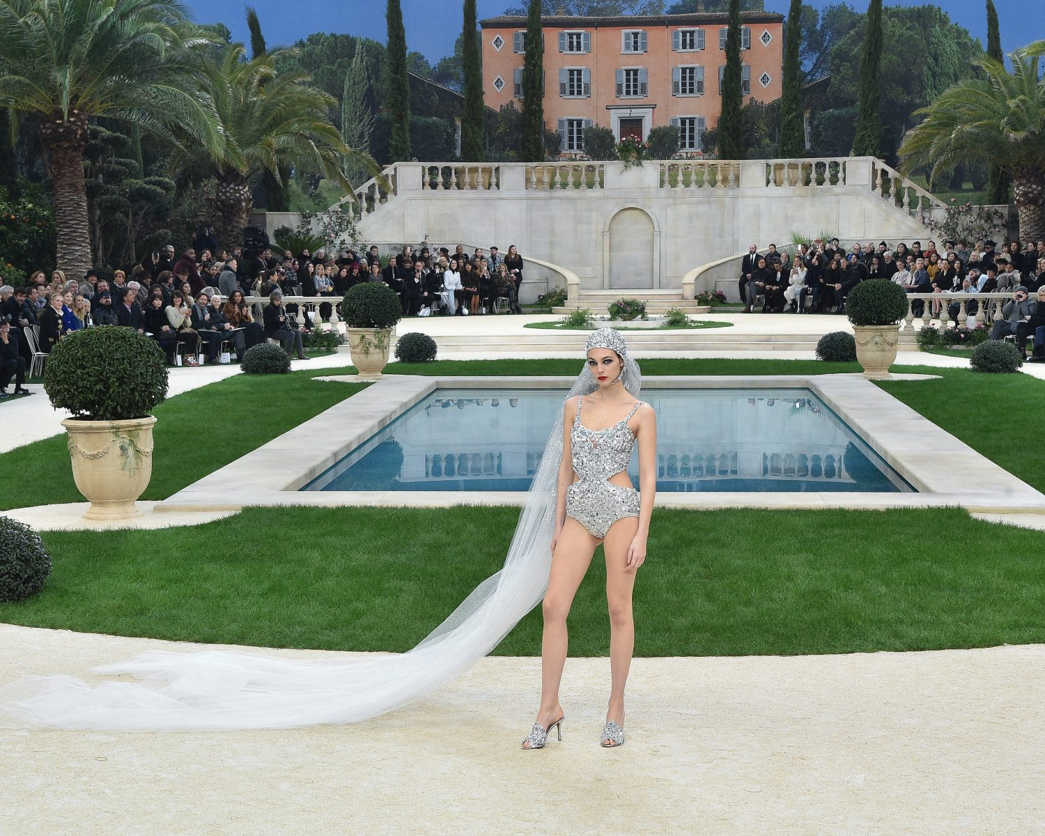 bridal swimsuit chanel