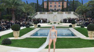bridal swimsuit chanel