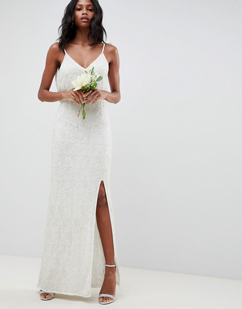 dd011feae31a ASOS Just Dropped Its New Bridal Collection All for Under  300