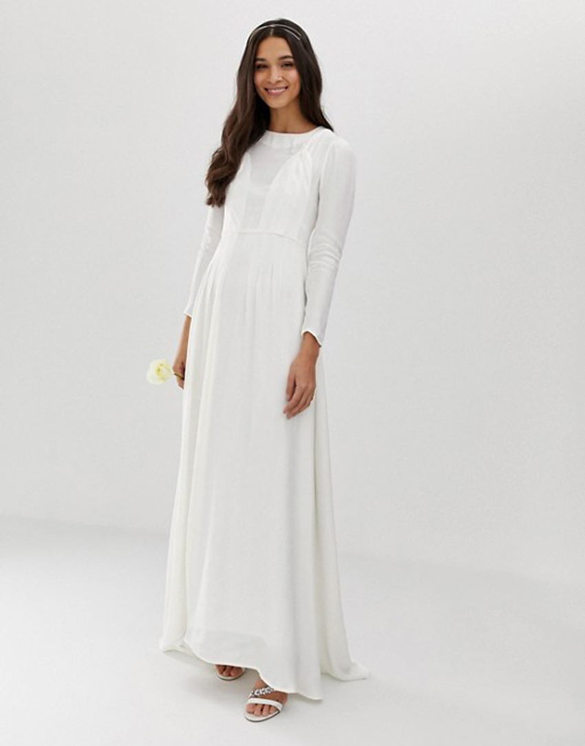 92314141c48 ASOS Just Dropped Its New Bridal Collection All for Under  300
